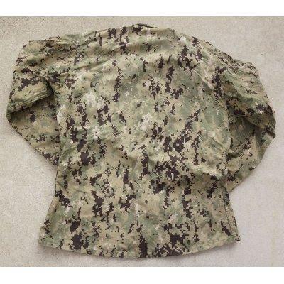 画像2: 米軍・米海軍SEABEES刺繍入りNWU TYPE3(AOR2)ジャケット