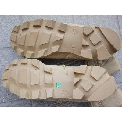 画像3: 米軍 初期型デザートブーツ(パナマソール)新品