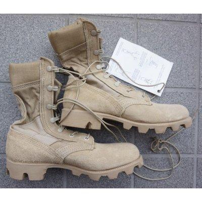 画像2: 米軍 初期型デザートブーツ(パナマソール)新品