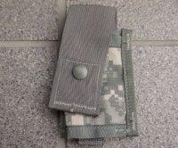 米軍MOLLEIIシングル40mmグレネードポーチUCP迷彩(ACU迷彩)