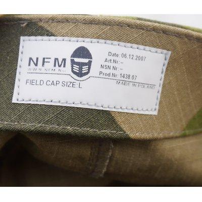 画像4: ノルウェー軍放出NFM製M/98迷彩キャップLARGE新品