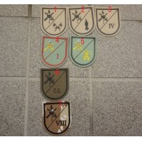 スペイン軍 部隊章 各種 新品