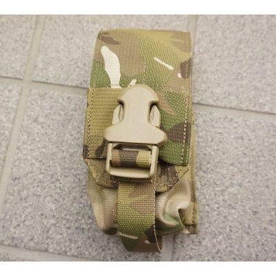 画像1: 米軍イーグルSOFLCSスモークグレネードポーチ マルチカム迷彩 新品