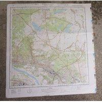 NVA(東ドイツ軍)軍用地図