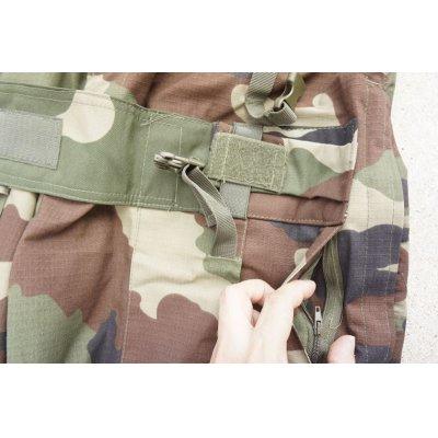 画像3: MIL-TECニーパッド付きコンバットパンツ フランス軍CCE迷彩 新品