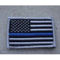 LBT製 型番不明 米法執行機関向けシンブルーライン星条旗フラッグパッチ新品