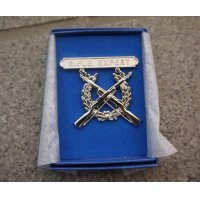米軍 米海兵隊 制服用ライフルエキスパート章 新品