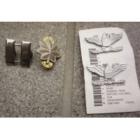 米軍 士官用 金属製階級章フルカラー品 各種