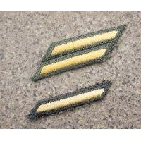 米軍 米陸軍 兵・下士官用 制服ジャケット用年功章カットエッジタイプ