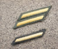 米軍 米陸軍 兵・下士官用 制服ジャケット用年功章