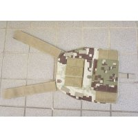 LBX-0057 SLICKプレートキャリア フロントパネル名誉迷彩 新品