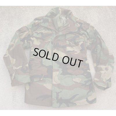 画像1: 米軍M65フィールドジャケット ウッドランド迷彩プラスチックジッパー仕様X-SMALL-REGULAR新品