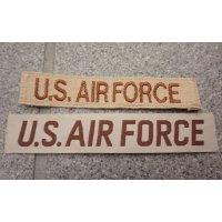 米軍 米空軍デザートカラー色U.S. AIR FORCEテープ