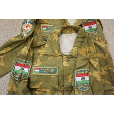 画像3: タジキスタン国境系部隊Berezka迷彩上下セット新品