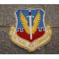 米軍 米空軍 戦術航空軍団フルカラー部隊章カットエッジタイプ新品