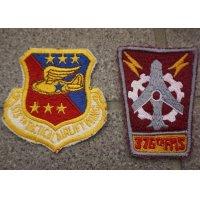 米軍 米空軍フルカラー部隊章カットエッジタイプ各種 新品