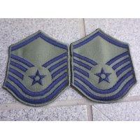 米軍 米空軍サブデュード一等軍曹 階級章2枚セット新品