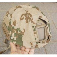 ドイツ連邦軍(ドイツ軍)OPS-CORE FAST用ヴィステン(デザートフレクター)迷彩ヘルメットカバー