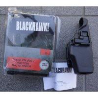 ブラックホークSERPA LEVEL2ヒップホルスター黒X26テイザーガン用