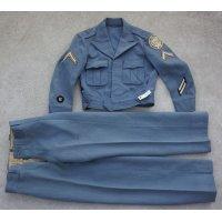 ミズーリ軍事学校テーラーメイド品アイクジャケット型制服上下セット