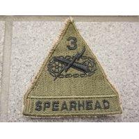 米軍 米陸軍第3機甲師団サブデュード部隊章カットエッジタイプ