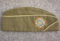 第二次世界大戦 米軍ベテランズ着用 騎兵科ギャリソンキャップ