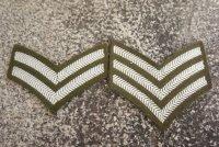 英軍 英陸軍No2制服用階級章 各種