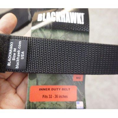画像3: ブラックホーク デューティベルト用インナーベルト黒 新品