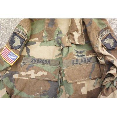 画像4: 米軍ウッドランドABDUエアクルージャケット後期型MEDIUM-LONG第101空挺師団エアクルーパッチ付