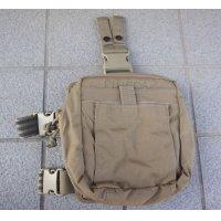 米軍NARP CCRKメディカルポーチ(レッグポーチとしてもMOLLEポーチとしても使用可)コヨーテ