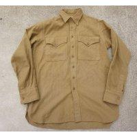 第二次世界大戦 米軍 米海兵隊ウールシャツ サイズ3