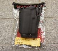 サファリランド5187ヒップホルスター 純正LAM・ライト付きグロック17・グロック22用 新品(右利き・左利き両方有り)