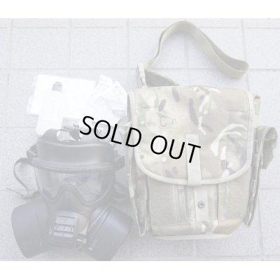 画像1: 英軍GSRレスピレーター(ガスマスク)サイズ2(L寸)付属品多数有り