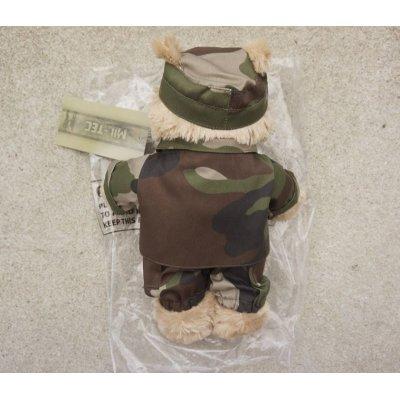 画像2: MIL-TECミリタリー仕様テディベア フランス軍CCE迷彩 新品