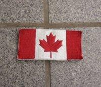 カナダ軍フラッグパッチ フルカラー品