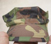韓国軍 海軍海兵隊ウッドランド迷彩 八角帽