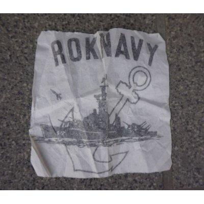 画像2: 韓国軍 海軍 胸ポケット用アイロンプリント転写ステンシルシート
