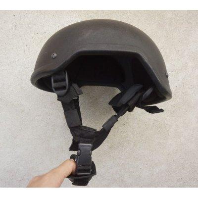 画像2: 英軍UKSF放出グローバルアーマー製MICH-2001型ヘルメット黒