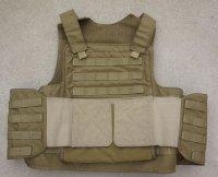 米軍放出サファリランド製ボディアーマー カーキLARGE-LONG(米海軍特殊部隊使用タイプ)
