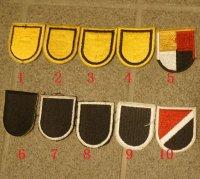 米軍 米陸軍特殊部隊ベレー章カットエッジタイプ各種