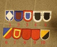 米軍 米陸軍レンジャー・空挺部隊ベレー章カットエッジタイプ各種 新品