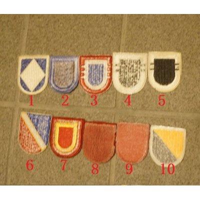 画像2: 米軍 米陸軍レンジャー・空挺部隊ベレー章カットエッジタイプ各種 新品