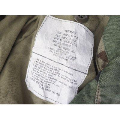 画像3: 輸出用? 米軍放出M65フィールドジャケット ウッドランド迷彩ブラスジッパー仕様DBAコントラクト品LARGE-REGULAR