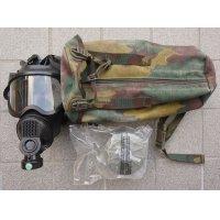 ベルギー軍BEM 4 GPガスマスクMEDIUMガスマスクバッグ付き