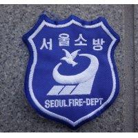 ソウル消防署 活動服用?部隊章