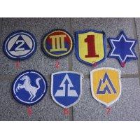 韓国軍 韓国陸軍フルカラー部隊章 各種