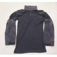 米法執行機関放出? Crye Gen2 Army Customコンバットシャツ黒LARGE-LONG