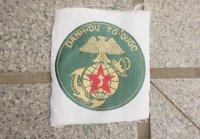 南ベトナム軍 海軍海兵隊 部隊章BEVO織パッチタイプ レプリカ新品