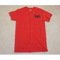 H&K製HK Tシャツ赤SMALL新品