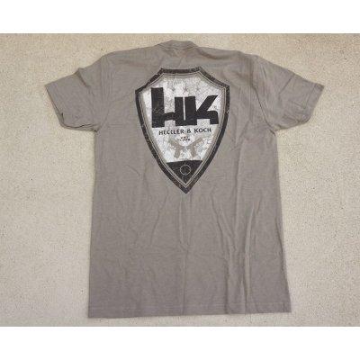 画像2: H&K製HK Tシャツ灰色SMALL新品